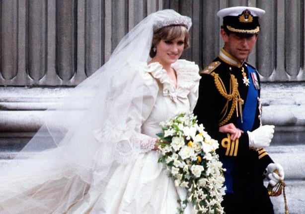 قطعة كعك من زفاف الأميرة ديانا في المزاد العلني