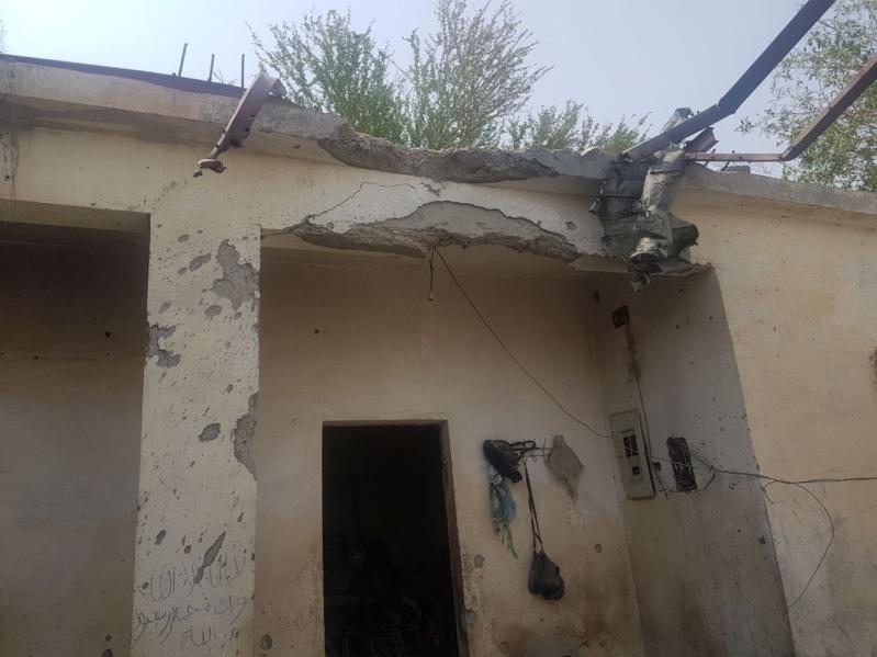 إصابة يمنية وطفلتين سعوديتين بشظايا مقذوف حوثي في العارضة