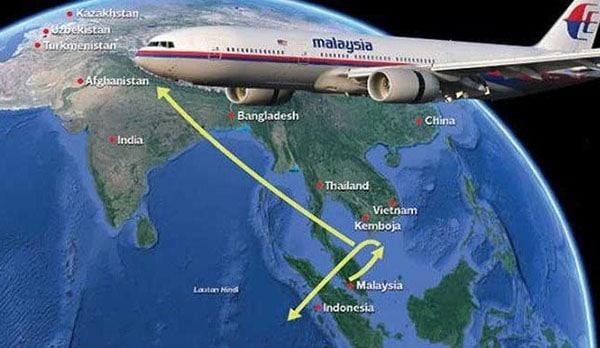 تطورات جديدة في حادث الطائرة الماليزية المفقودة