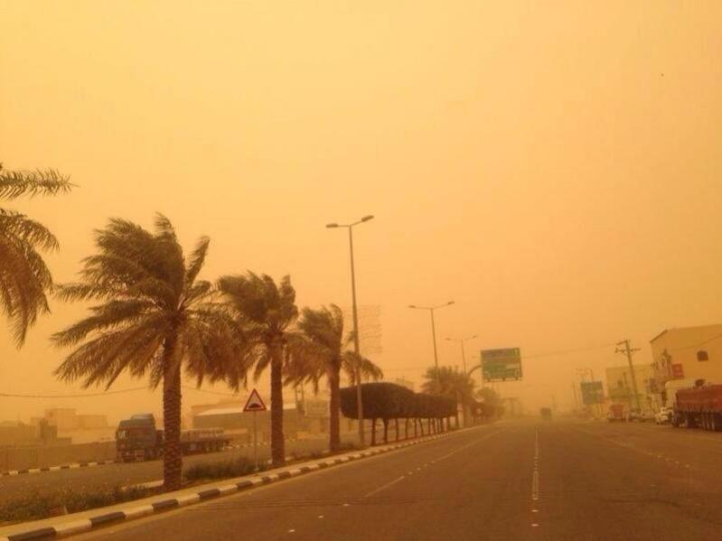 أمطار وغبار على الباحة لمدة 9 ساعات والمدني يحذر