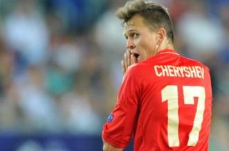 لاعب المنتخب الروسي دينيس تشيريشيف