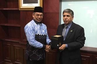 مدير عام الجوازات يرأس وفدًا لمناقشة تجربة إنهاء إجراءات قدوم الحجاج الإندونيسيين - المواطن