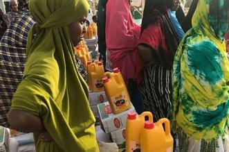 2485 كرتونًا وسلة غذائية من مركز الملك سلمان لمتضرري بونت لاند - المواطن
