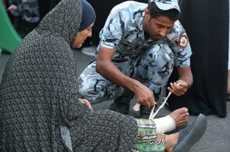 بالصور.. جهود مميزة لأمن الحرم أول أيام رمضان - المواطن