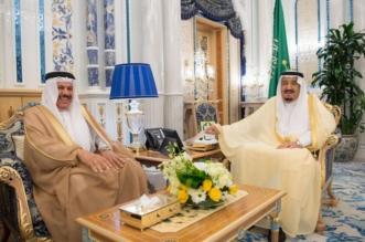 خادم الحرمين يستقبل الأمين العام لمجلس التعاون الخليجي - المواطن