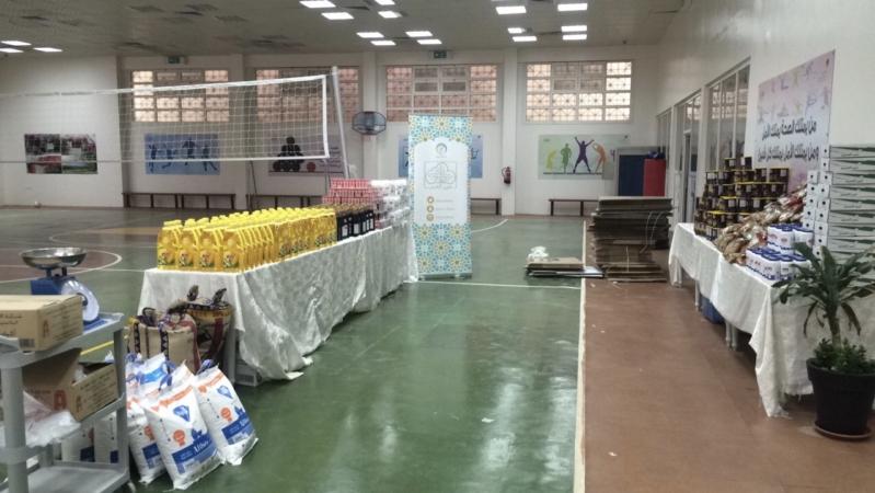 تجهيز أكثر من 110 سلال رمضانية للمحتاجين في الرياض
