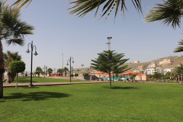 الحدائق العامة بجدة متنفسات تستقطب مرتاديها في العيد
