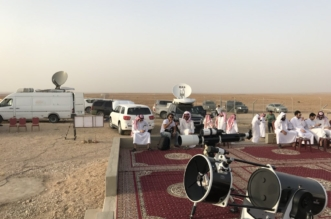 أول بشائر رصد هلال شوال في مرصد حوطة سدير - المواطن