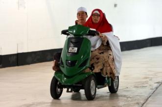 بالصور.. 9400 عربة كهربائية ويدوية توفرها إدارة خدمات التنقل بالمسجد الحرام مجانًا - المواطن