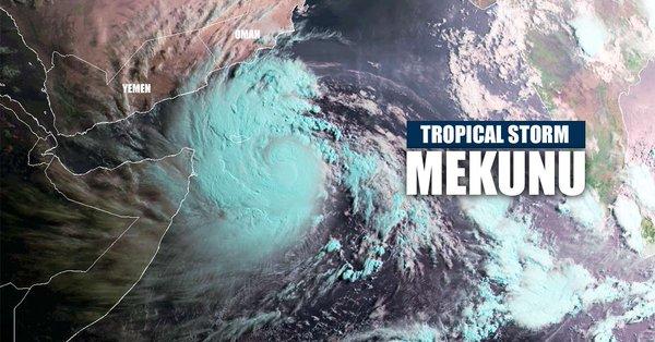 الأرصاد تحذر: تأثير عاصفة ميكونو MEKUNU يمتد إلى الرياض