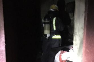التماس في تكييف يحرق منزلًا في بارق - المواطن