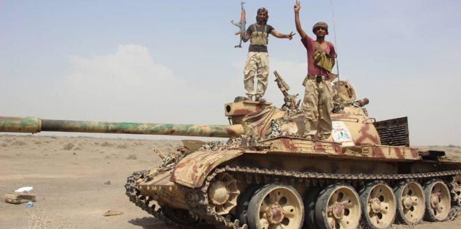 الجيش اليمني يحرر مواقع جديدة في مديرية كتاف