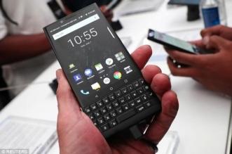 لوحة مفاتيح مجددًا.. بلاك بيري تكشف سعر هاتفها الذكي الجديد - المواطن