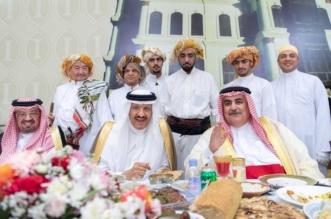 سلطان بن سلمان يستقبل وزير الخارجية البحريني ويقيم مأدبة غداء لضيوف سوق عكاظ - المواطن