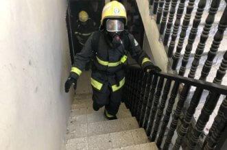 حريق في شقة سكنية ببريدة يُصيب 3 أشخاص باختناق - المواطن