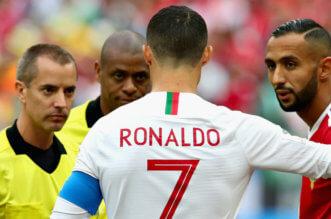 فيفا يعلق على تصريح نجم المغرب بشأن كرستيانو رونالدو