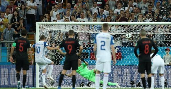 كرواتيا تفوز على أيسلندا في الوقت القاتل