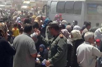 لاجئين سوريين درعا الغوطة