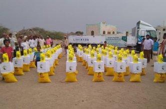 مركز الملك سلمان يواصل إغاثة الأسر المحتاجة في الحديدة - المواطن