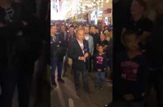 بالفيديو.. مشجعون سعوديون يلجمون مذيع beIN Sports في موسكو - المواطن