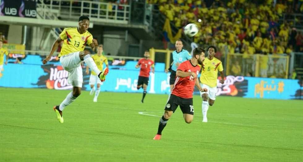 منافسو السعودية.. مصر تنجو من الخسارة أمام كولومبيا