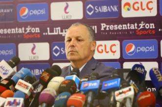 هاني ابو ريدة رئيس الاتحاد المصري لكرة القدم