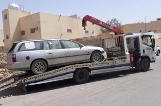 إزالة ١٣٧ بسطة وسحب سيارات تالفة بالرياض - المواطن