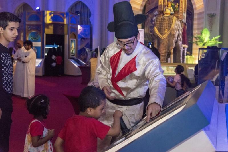 بالصور.. علماء العصر الذهبي يستعرضون التراث الإسلامي بأسلوب جديد في مكة - المواطن