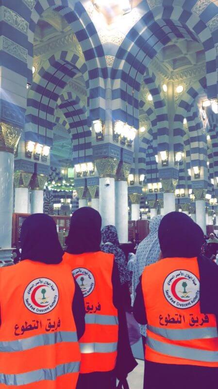 بحرفية ودقة.. هلال المدينة يعلن نجاح تغطية المسجد النبوي في ليلة 27 رمضان