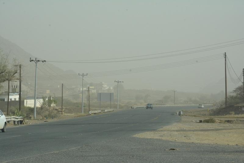 الأرصاد تحذر سكان 3 مناطق من موجة غبار تستمر حتى الصباح - المواطن