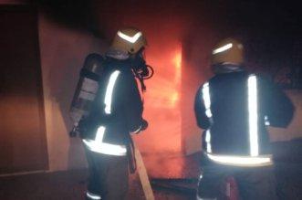 بالصور ..محايل تستيقظ على تفحم طفلين وإصابه 5 من عائلة واحدة بحريق - المواطن