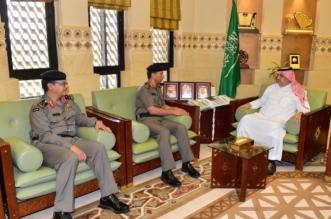 وكيل إمارة الرياض يستقبل مدير المرور وقائد القوة الخاصة بالمنطقة - المواطن