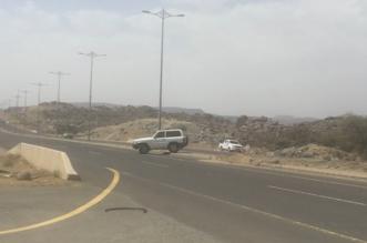 بالفيديو : تقاطع آل مسلم بالحرجة يتربص بحياة سالكي الطريق - المواطن