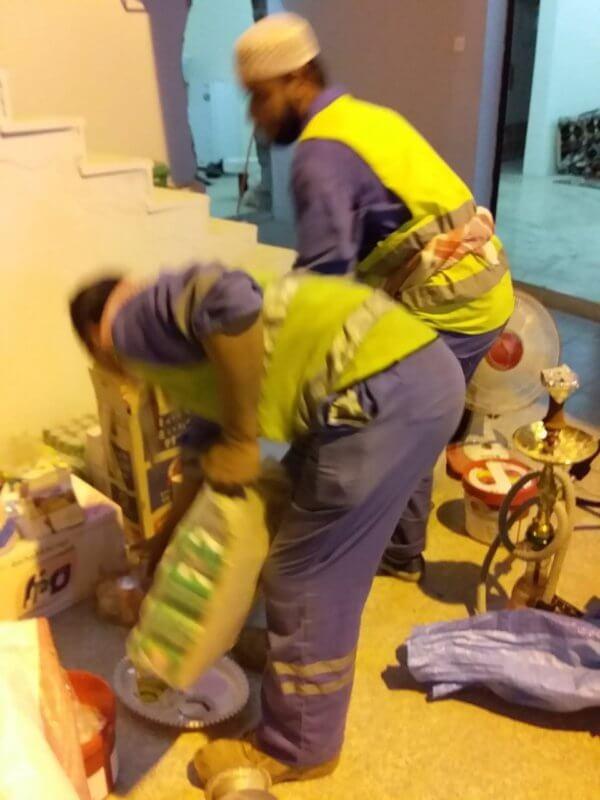 بالصور.. إغلاق مقهى شعبي مخالف في أبها - المواطن