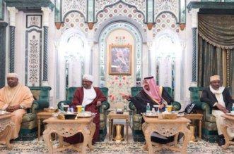 الملك يستقبل رؤساء جزر القمر والسودان والجابون ووزير الخارجية الإماراتي - المواطن