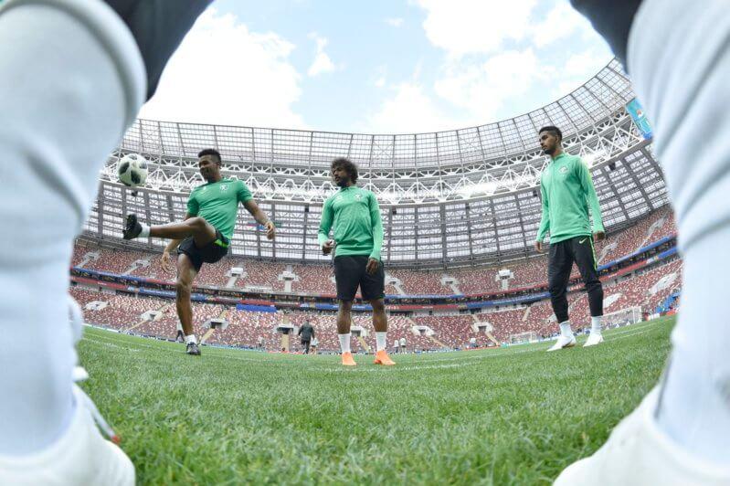 11 طفلاً من أبناء الشهداء يشاركون الأخضر في مباراة افتتاح مونديال روسيا