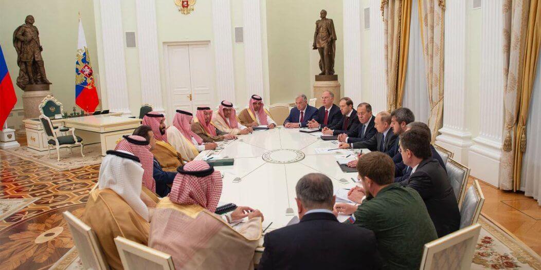 الكرملين يحتضن لقاء محمد بن سلمان وبوتين قبل مباراة السعودية وروسيا