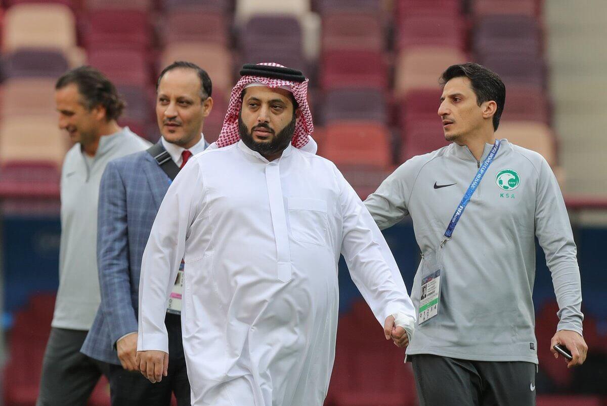 تركي آل الشيخ: الحمد لله على سلامة الأخضر .. كل التوفيق لهم