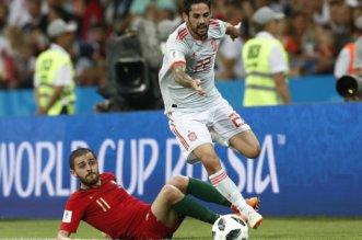 شاهد بالفيديو .. إسبانيا والبرتغال أحباء في تعادل مثير في كأس العالم 2018 - المواطن