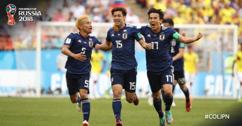 مباراة كولومبيا ضد اليابان ..  الساموراي يهزم رفقاء فالكاو بضربتين مدويتين