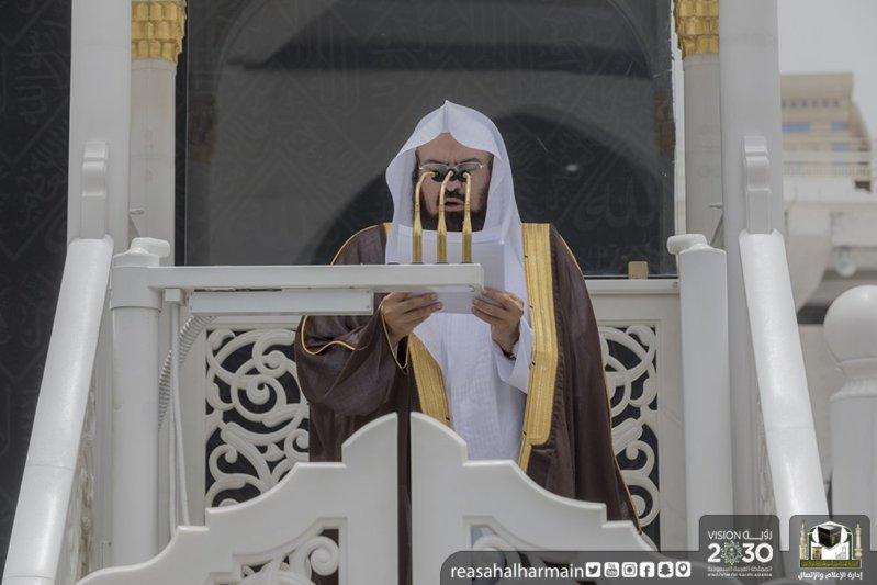 الشيخ السديس في خطبة الجمعة: أهم حِكم الشتاء التذكير بزمهرير جهنم