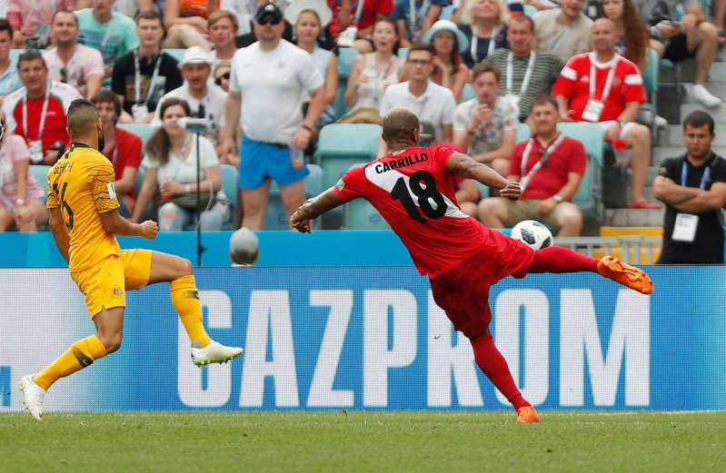 شاهد بالفيديو .. هدف الشوط الأول من مباراة أستراليا ضد بيرو
