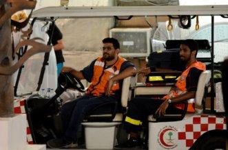 الهلال الأحمر يباشر 46 حالة خلال مهرجان جدة التاريخية مسك - المواطن