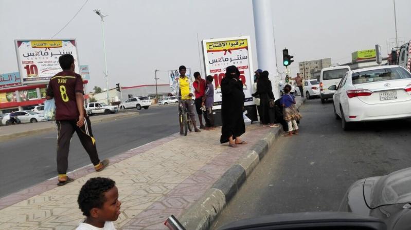 بالفيديو والصور.. متسولون في جازان قرب العيد وهذه ألاعيبهم! - المواطن