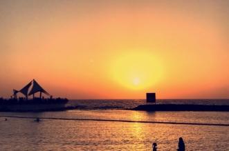 بالصور.. جمال الطبيعة يمتزج بالروحانيات على كورنيش جدة - المواطن