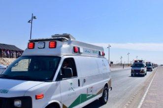 انقلاب باص ركاب في حفر الباطن يصيب 37 شخصًا والمستشفيات تستنفر - المواطن