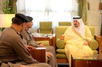 4 صور لاستقبال فيصل بن بندر منسوبي شرطة الرياض - المواطن