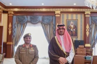 سعود بن خالد يقلد اللواء عبدالرحمن المشحن رتبته الجديدة - المواطن