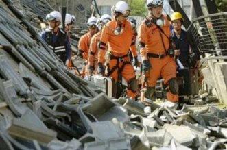 بالصور.. زلزال عنيف يضرب اليابان وسقوط عشرات القتلى والجرحى - المواطن