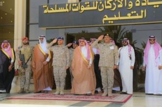 بالصور.. أمير الرياض يرعى حفل تخريج دورة الحرب التاسعة ودورة القيادة والأركان 44 - المواطن